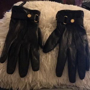Lauren Leather Gloves